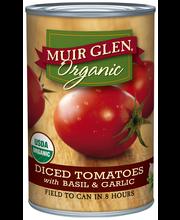 Muir Glen™ Organic Diced San Marzano Style Tomatoes with Basi...