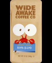 WIDE AWAKE COFFEE KONA BLND GRND