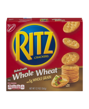 Nabisco Ritz Crackers Baked with Whole Wheat 12.9 oz. Box