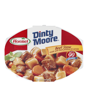 DINTY MOORE Made W/Fresh Potatoes & Carrots Beef Stew 10 OZ TRAY