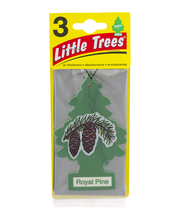 Little Trees Air Fresheners Royal Pine - 3 CT