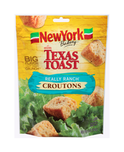 New York Bakery® Texas Toast Really Ranch® Croutons 5 oz. Bag