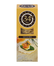 34 Degrees Savory Crisps Sesame