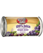 Wf Unsweetened Grape Juice