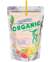 Capri Sun® Organic Fruit Punch Juice Drink 10-6 fl. oz. Pouches