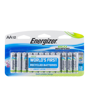 Energizer AA Eco Advanced Batteries - 12 CT
