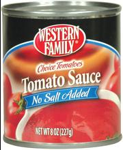 Wf Tomato Sauce No Salt