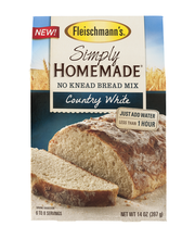 Fleischmann's® Simply Homemade® Country White No Knead Bread ...