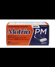 Motrin® Coated Caplets PM 80 Ct Box
