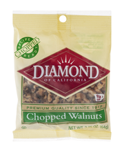 Diamond of California® Chopped Walnuts 2.25 oz. Bag