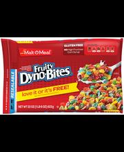 Malt-O-Meal® Fruity Dyno-Bites® Cereal 22 oz. ZIP PAK®