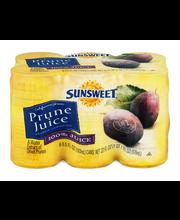 Sunsweet Prune Juice 100% Juice - 6 CT