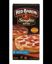 Red Baron® Singles Deep Dish Pepperoni Pizzas 11.20 oz. Box