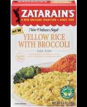 Zatarain's® Yellow Rice with Broccoli Rice Mix 6.9 oz. Box