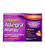 Children's Allegra Allergy 12 Hour Relief Orally Disintegrati...