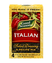 Good Seasons Italian Salad Dressing & Recipe Mix 4-0.7 oz. Po...