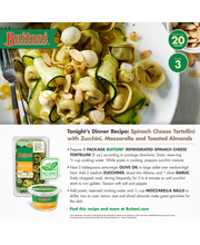 BUITONI Refrigerated Spinach Cheese Tortellini 9 oz Tray