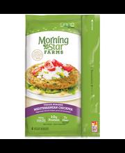 MorningStar Farms® Mediterranean Chickpea Veggie Burgers 4 ct...