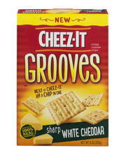 Cheez-It Grooves® Sharp White Cheddar Crispy Cracker Chips 9 ...