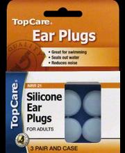 TOPCARE EAR PLUGS SILICONE
