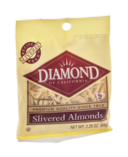 Diamond of California® Slivered Almonds 2.25 oz. Peg