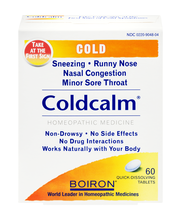 Boiron Coldcalm Cold Quick-Dissolving Tablets - 60 CT