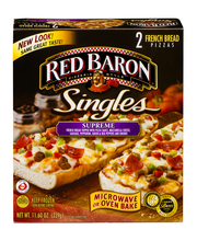 Red Baron® Singles French Bread Supreme Pizzas 11.60 oz. Box