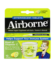 Airborne®  Vitamin C Immune Support Effervescent Tablets 10 c...