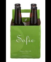Goose Island Sofie Farmhouse Ale, 4 pk 12 fl. oz. Bottles