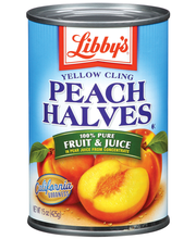 Libby's® Yellow Cling In Pear Juice Peach Halves 15 Oz Can