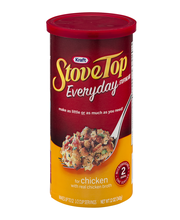 Kraft Stove Top Everyday Stuffing Mix for Chicken 12 oz. Cani...