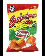 Sabritones® Chile & Lime Puffed Wheat Snacks 4.25 oz. Bag