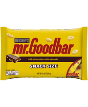 Hershey's® Mr. Goodbar® Snack Size Candy Bars 10.35 oz. Bag