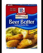 McCormick® Golden Dipt® Beer Batter Seafood Batter Mix 10 oz....