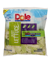 Dole Just Lettuce Salad Bag