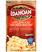 Idahoan® Applewood Smoked Bacon Mashed Potatoes 4 oz. Pouch