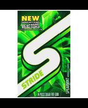 Stride Spearmint Sugar Free Gum 14 Piece Pack