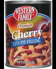 Wf Lite Cherry Pie Filling
