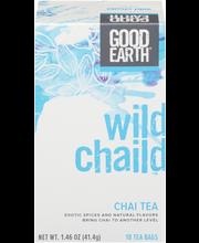 Good Earth® Wild Chaild™ Chai Tea 18 ct Box
