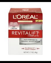 L'Oreal® Paris RevitaLift® Anti-Wrinkle & Firming Moisturizer...