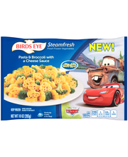 Birds Eye® Steamfresh® Disney Pixar Cars Pasta & Broccoli wit...