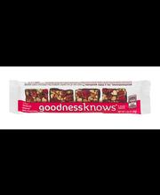 GoodnessKnows Snack Squares Cranberry Almond Dark Chocolate -...