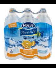 NESTLE SPLASH Water Beverages with Natural Fruit Flavors, Man...