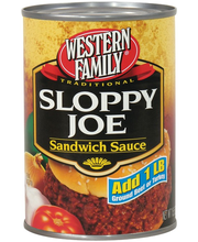 Wf Sloppy Joe Sauce
