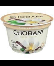 Chobani® Vanilla Blended Non-Fat Greek Yogurt 5.3 oz. Cup