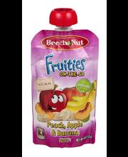 Beech Nut Fruities On-The-Go Puree Peach, Apple & Banana