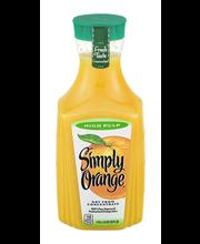 Simply Orange® High Pulp Orange Juice 1.75L Plastic Carafe