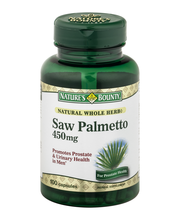 Nature's Bounty Herbal Capsules Saw Palmetto 450 mg - 100 CT