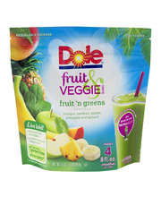 Dole® Fruit Veggie Blends Fruit 'n Greens Smoothies 16 oz. St...