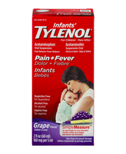 Infants' Tylenol® Pain+Fever Grape Flavor Acetaminophen Oral ...
